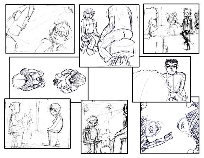 ¿Quieres ver a los Alumnos C10 de cómic trabajando?