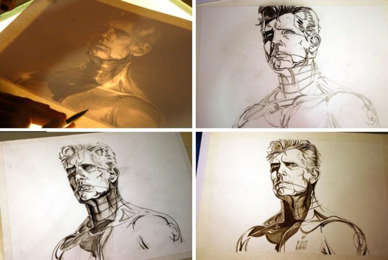 Cursos-cromados-ilustracion-1-aerografia-aerografo-Carlos Diez-Academia-C10 copia