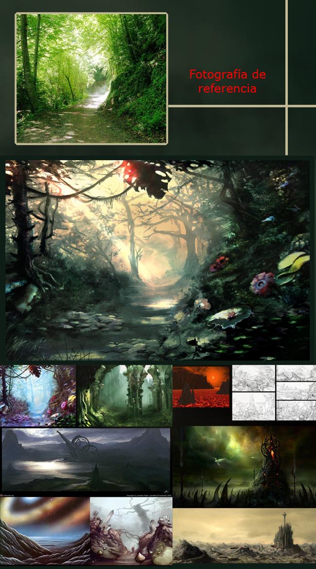 """En ilustración digital de Academia C10 """"viajamos a otros mundos"""""""
