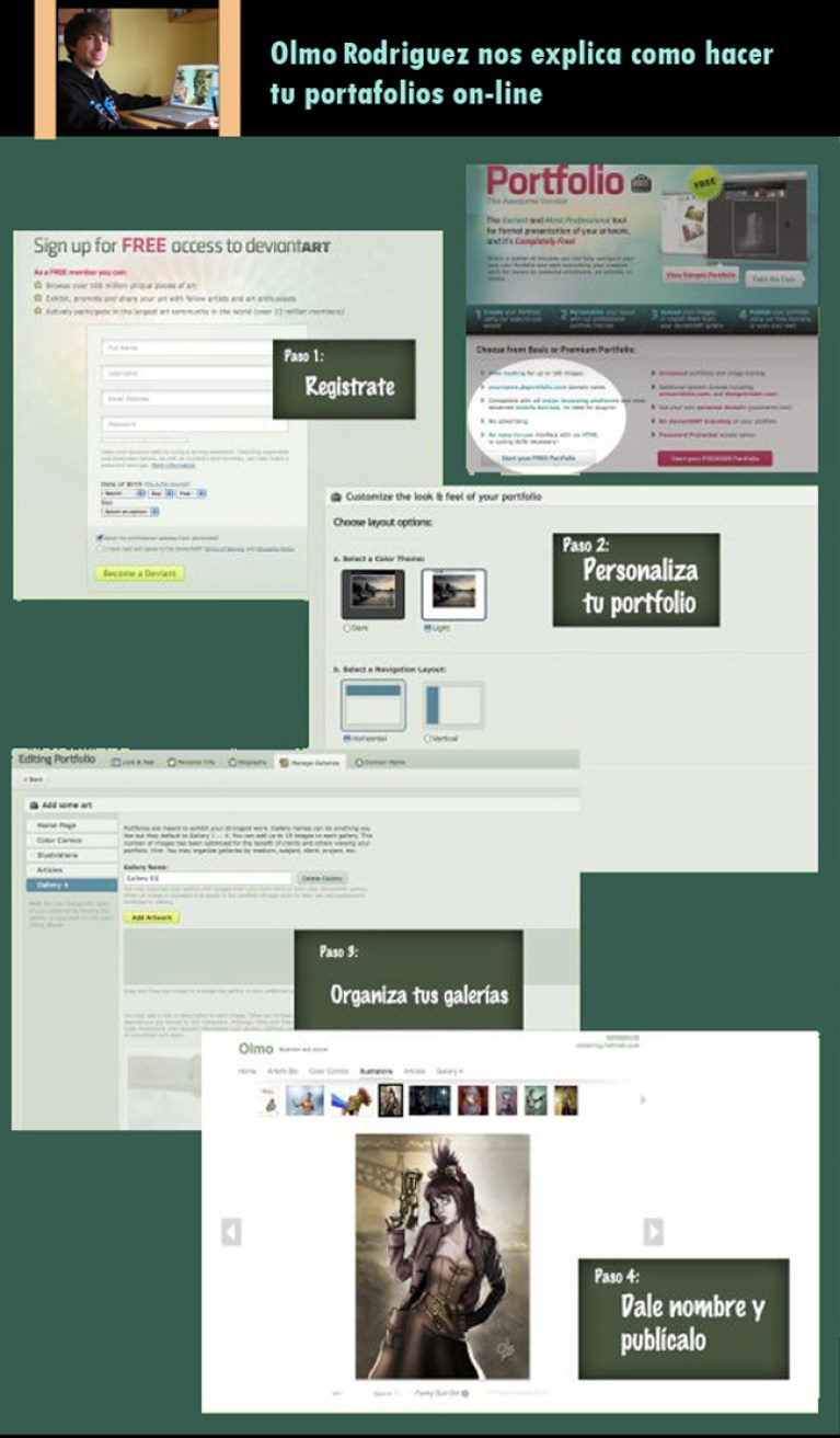 El Porfolio, tu presentación en la red