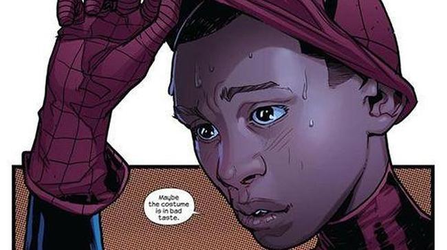 El nuevo Spiderman de Marvel es afrolatino.