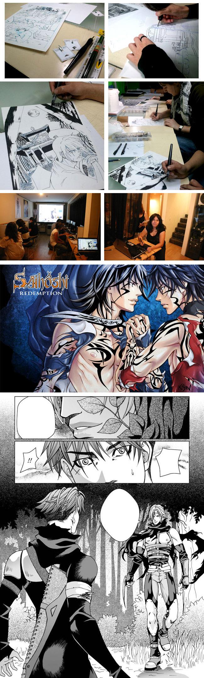 ¡Arrancamos el curso de manga en Academia C10!