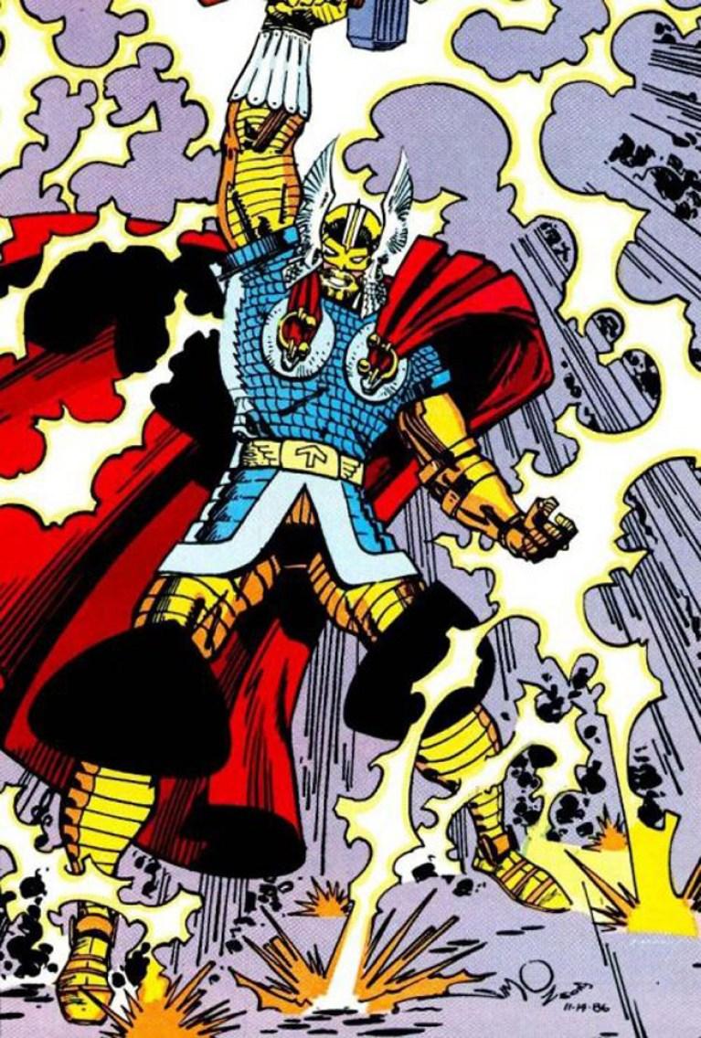 La gruta del cómic: El poderoso Thor de Simonson