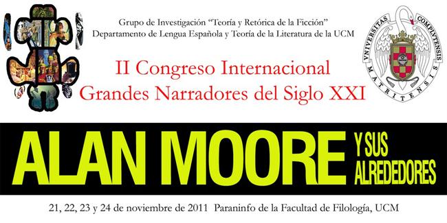 Congreso narradores del siglo XXI: Alan Moore.