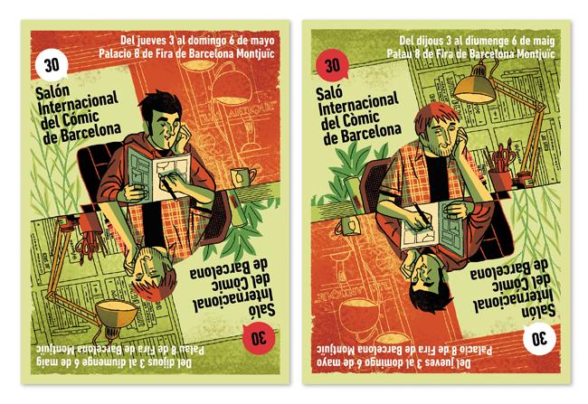 Salón del cómic de Barcelona 2012