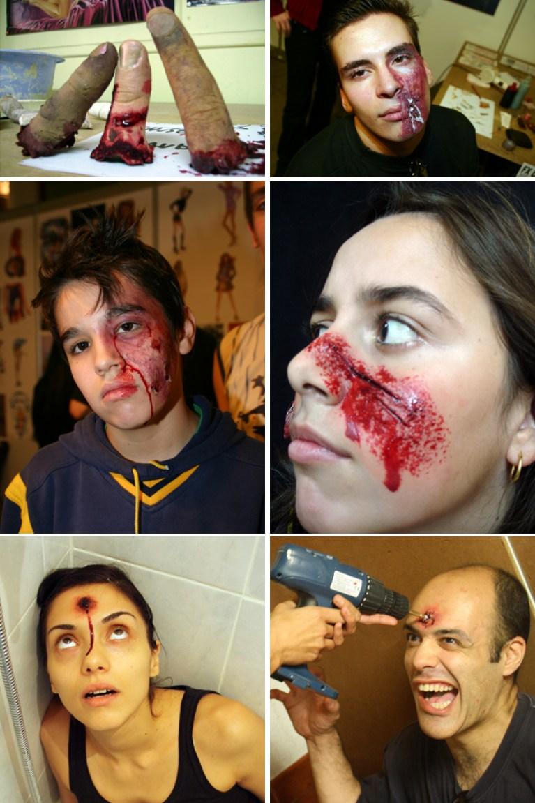 Cursos de FX Maquillaje en Academia C10.