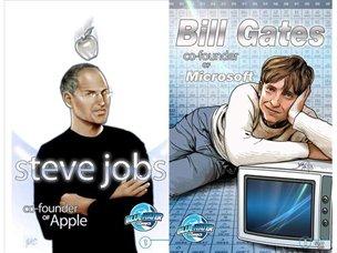 Sale a la venta el cómic biográfico de Steve Jobs.