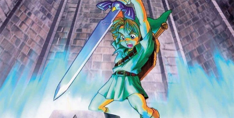 "Cómic de ""The legend of Zelda""."