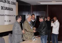 En Granada, Carlos Pacheco (DC, Marvel) recibe el premio a mejor dibujante español.