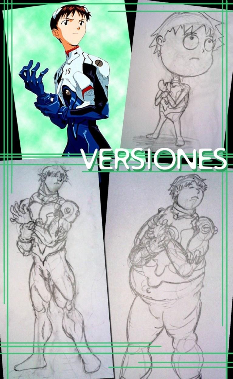 Versiones de un personaje