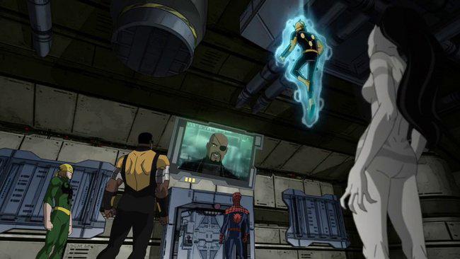 gruta-comic-Xose-Spiderman-Comic-Madrid-AcademiaC10-Marvel