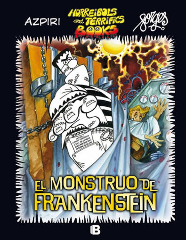 """Tras el éxito de """"Drácula"""", Azpiri y Forges adaptan """"Frankenstein"""" al cómic."""