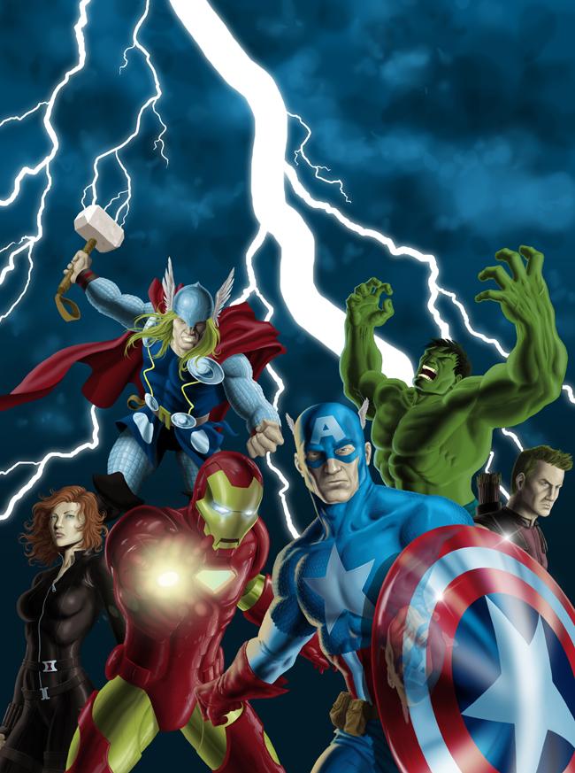 Los Vengadores-Tutorial-comic-Madrid-Academiac10