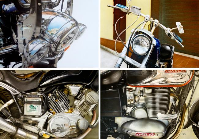 cromados-super-realistas-aeografia-ilustracion-trabajo-aerografo-alumno-academia-c10-Manuel Otero-moto-custom