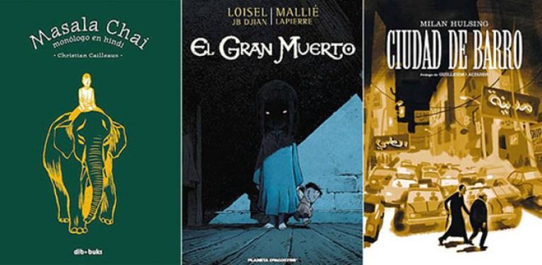 Cómics de viajes, misterio y política-ficción para el fin de semana