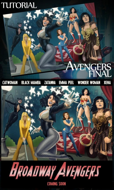 cursos-Academia C10-Madrid-Comic-Cine-Marvel-Los vengadores-Alvaro Muñoz-Tutoriales-Concursos
