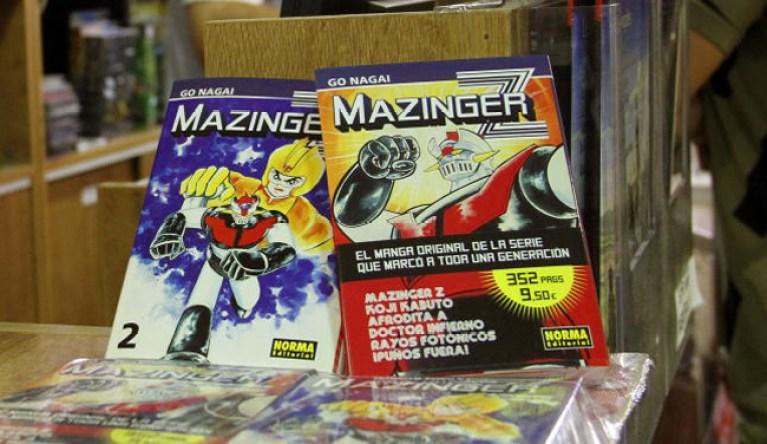 mazingerZ-AcademiaC10-Madrid-Comic-Manga-Cursos