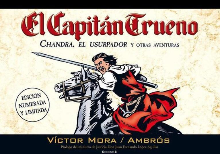 capitan-trueno-comic-madrid-salon-barcelona-Ambros-Victor-Mora