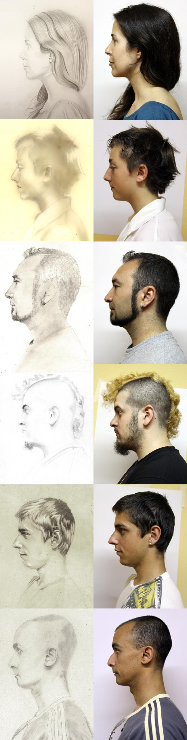 auto-retratos-dibujo-alumnos-cursos-academia-c10-lapiz-bocetos