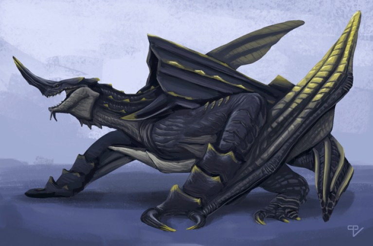 concept-art-madrid-articulos-digital-ilustracion-tradicional-academiac10-dragon-tortuga-expocomic