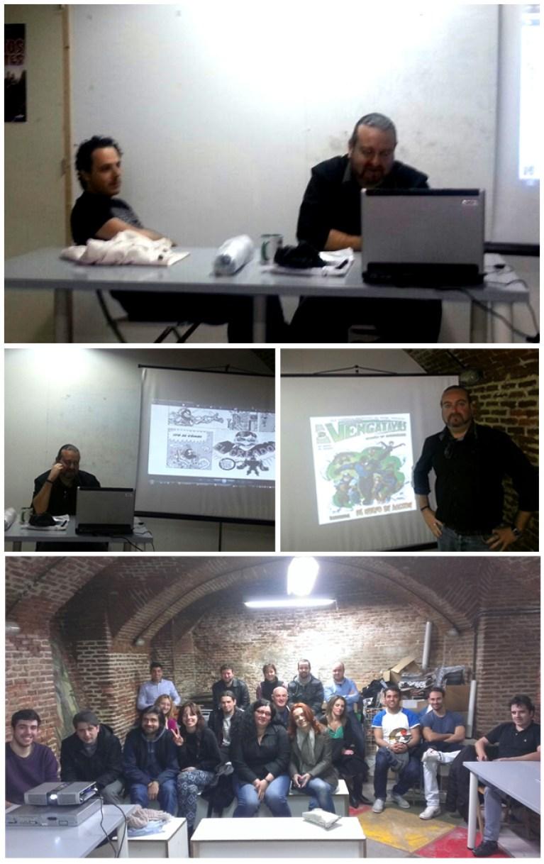 presentacion-comic-los-vengativos-generacionx-madrid-mariano-saura-helio-mira