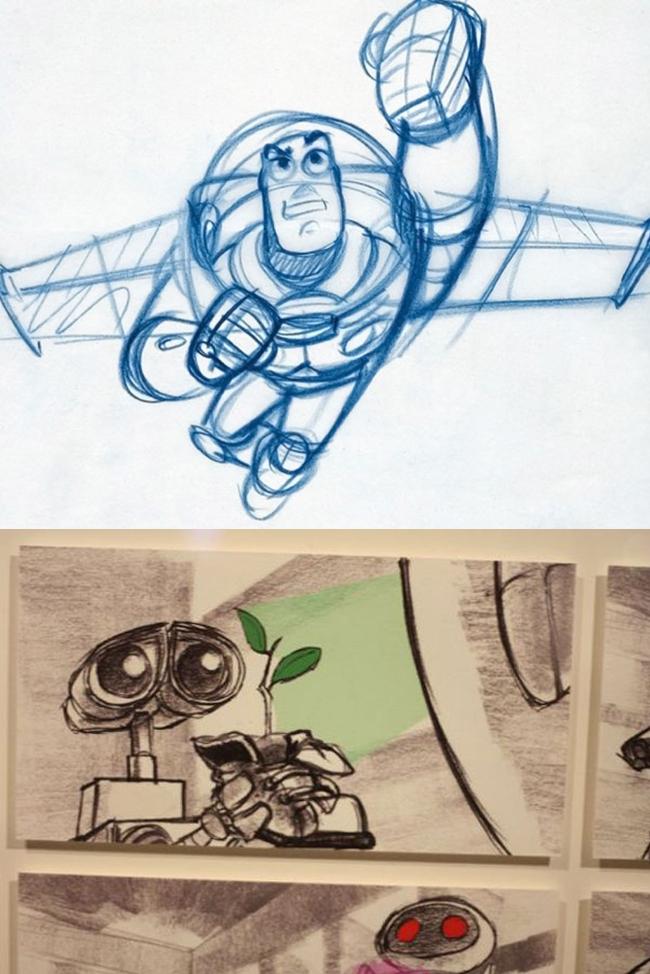 pixar-25-años-animacion-tradicional-digital-dibujo-aprender-a-dibujar-comic-cine-dibujos-animados