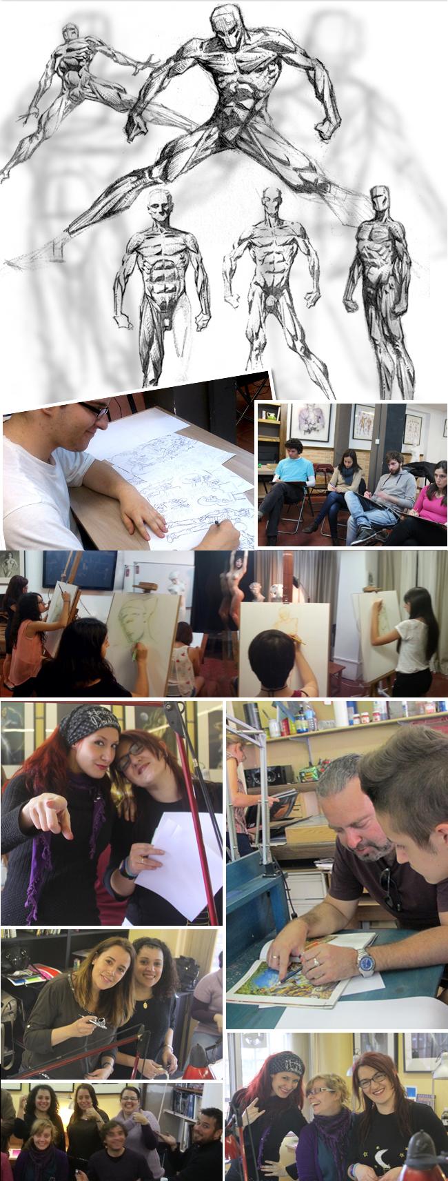 Master-C10-Academia-C10-aulas-de-dibujo-comic-ilustracion-aerografia-dibujo-digital-manga-fx-maquillaje