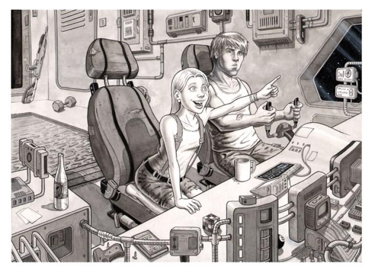 trabajos-alumnos-curso-comic-academiac10-aguadas-acuarelas-madrid