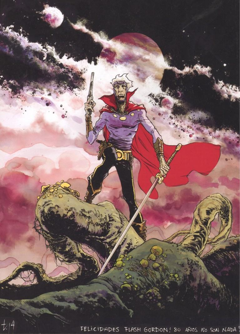 flash gordon_tirso cons_ilustracion_comic_exposicion_academia c10
