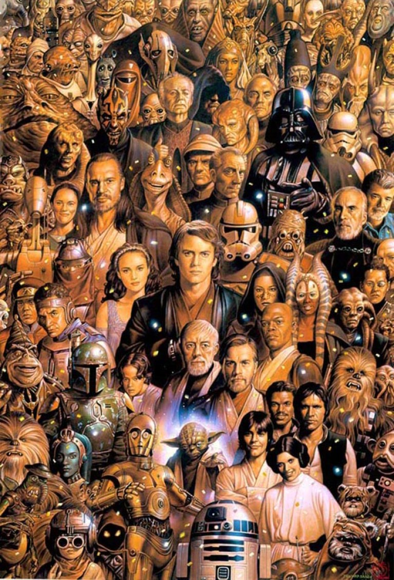 Dibujos de Star Wars de Tsuneo Sanda. Masterclass en Academia C10. Expocomic 2015
