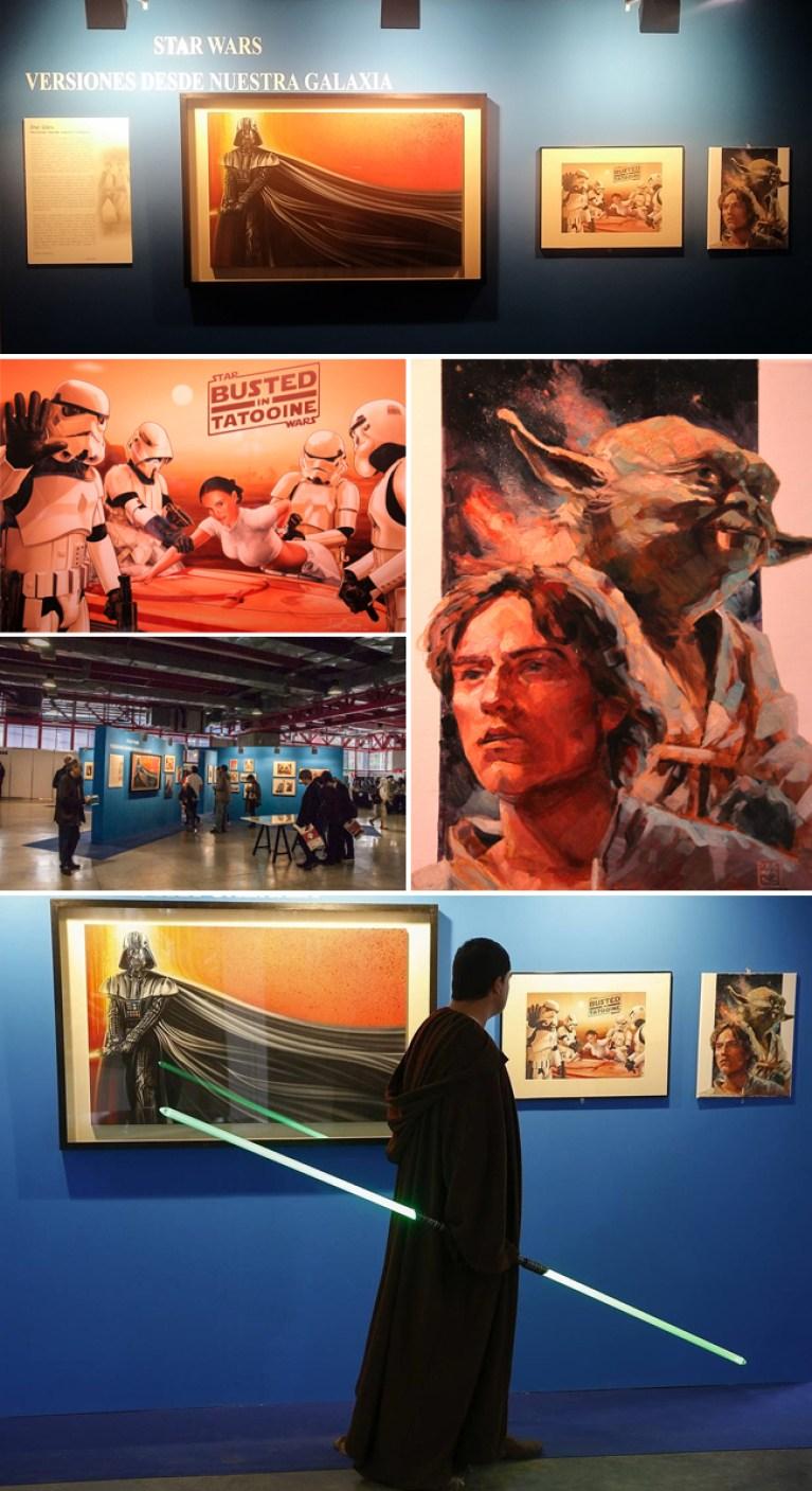 Exposicion_Star Wars_Expocomic_2015