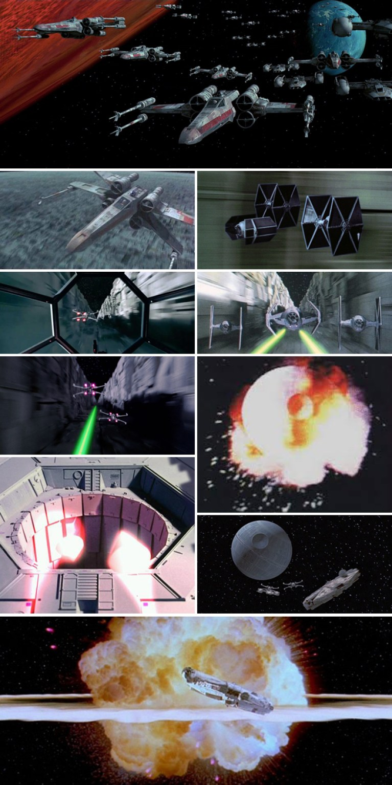 Star Wars_Estrella de la Muerte_Starkiller_Carlos Diez_Academia C10_Batalla Yavin