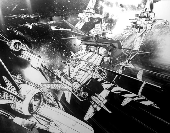Star-Wars-Pepe-Larraz-Exposicion.-Comic-Fan-Generacion X-Academia C10
