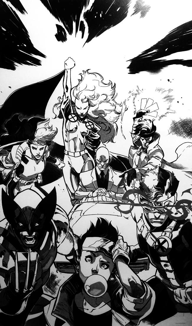 Pepe Larraz-X-Men-Generacion X-Comc-Fan-Academia C10