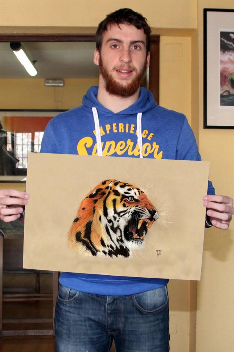 curso-ilustracion-tradicional-masterc10-lapices-colores-retratos-animales-tigre1