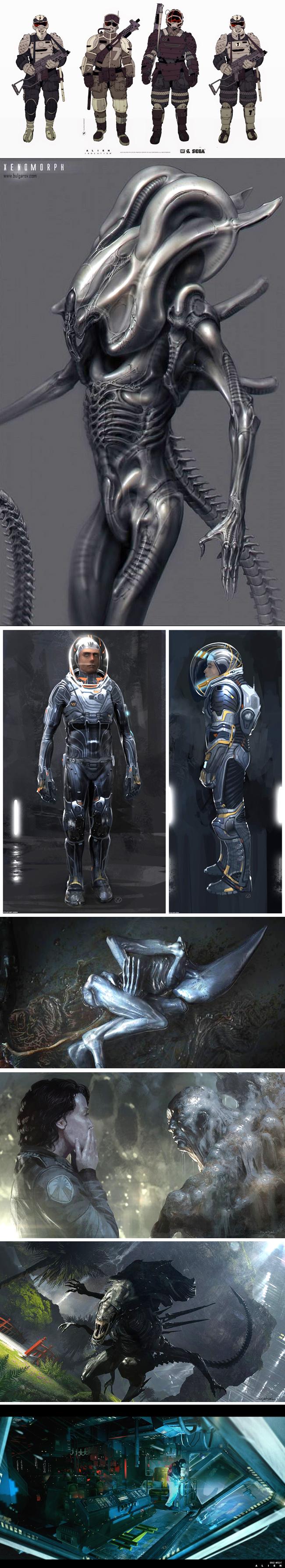 curso-arte-digital-concepts-arts-alien-cine-ciencia-ficcion