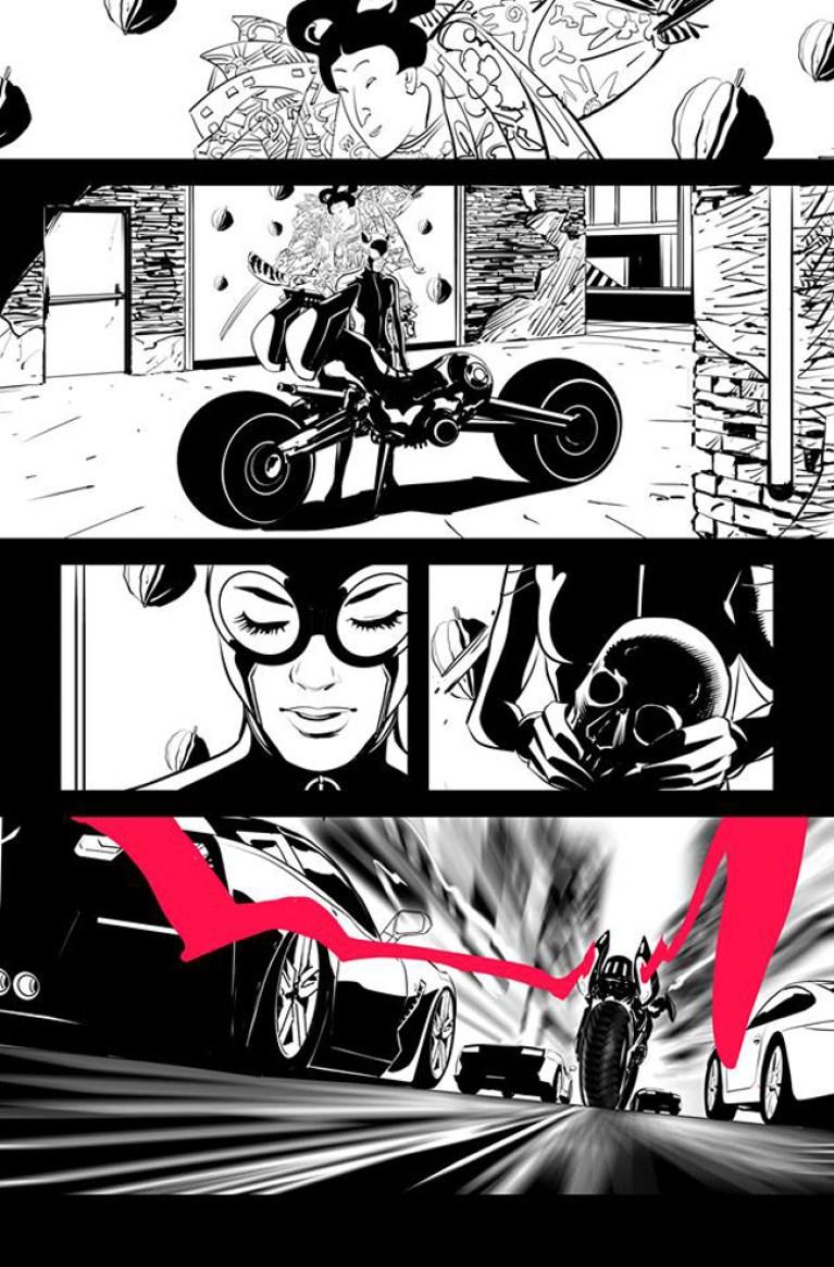 Iñaki Miranda-Tinta-Catwoman-DC-Comics