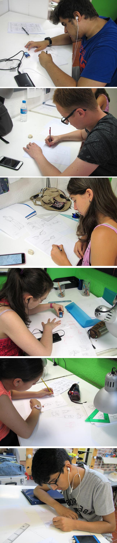 alumnos-curso-intensivo-verano-comic-manga-dibujo-academiac10-madrid-trabajando1