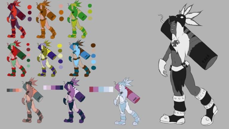 curso-arte-digital-diseno-videojuegos-concept-art-madrid-trabajos-alumnos1