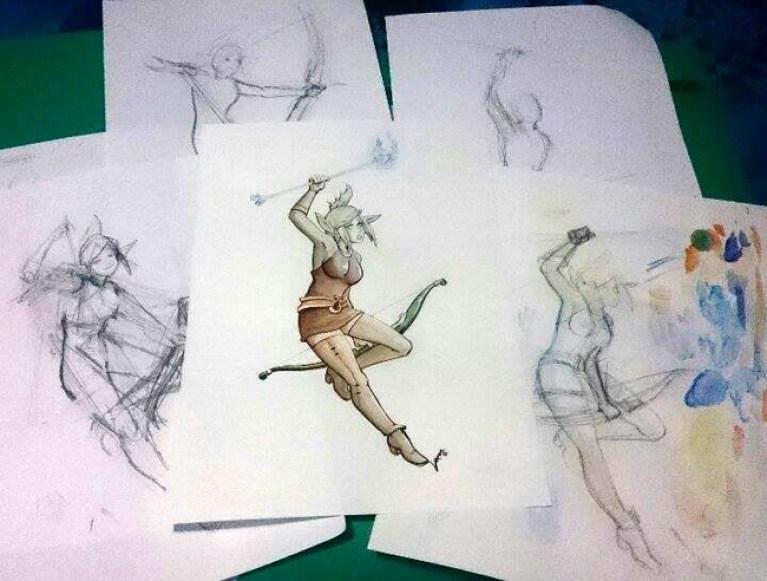 nuevos-trabajos-alumnos-veronica-curso-dibujo-masterc10-academiac10-madrid1
