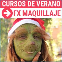 Curso de verano de FX maquillaje