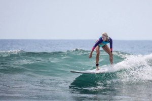 A typical day in Jacó Beach brings perfect surf for beginners and advanced surfers