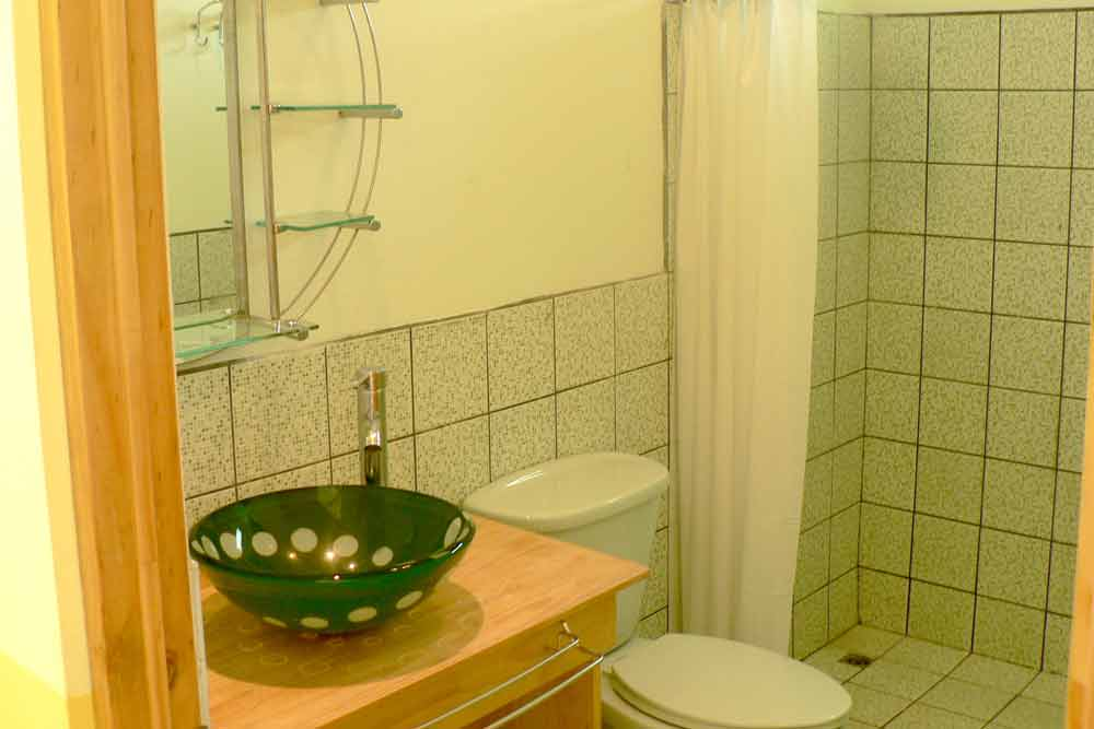 Accommodation: Student Residence Coronado bathroom