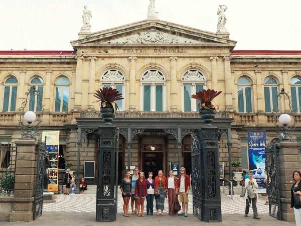 San José city tour with Spanish school students