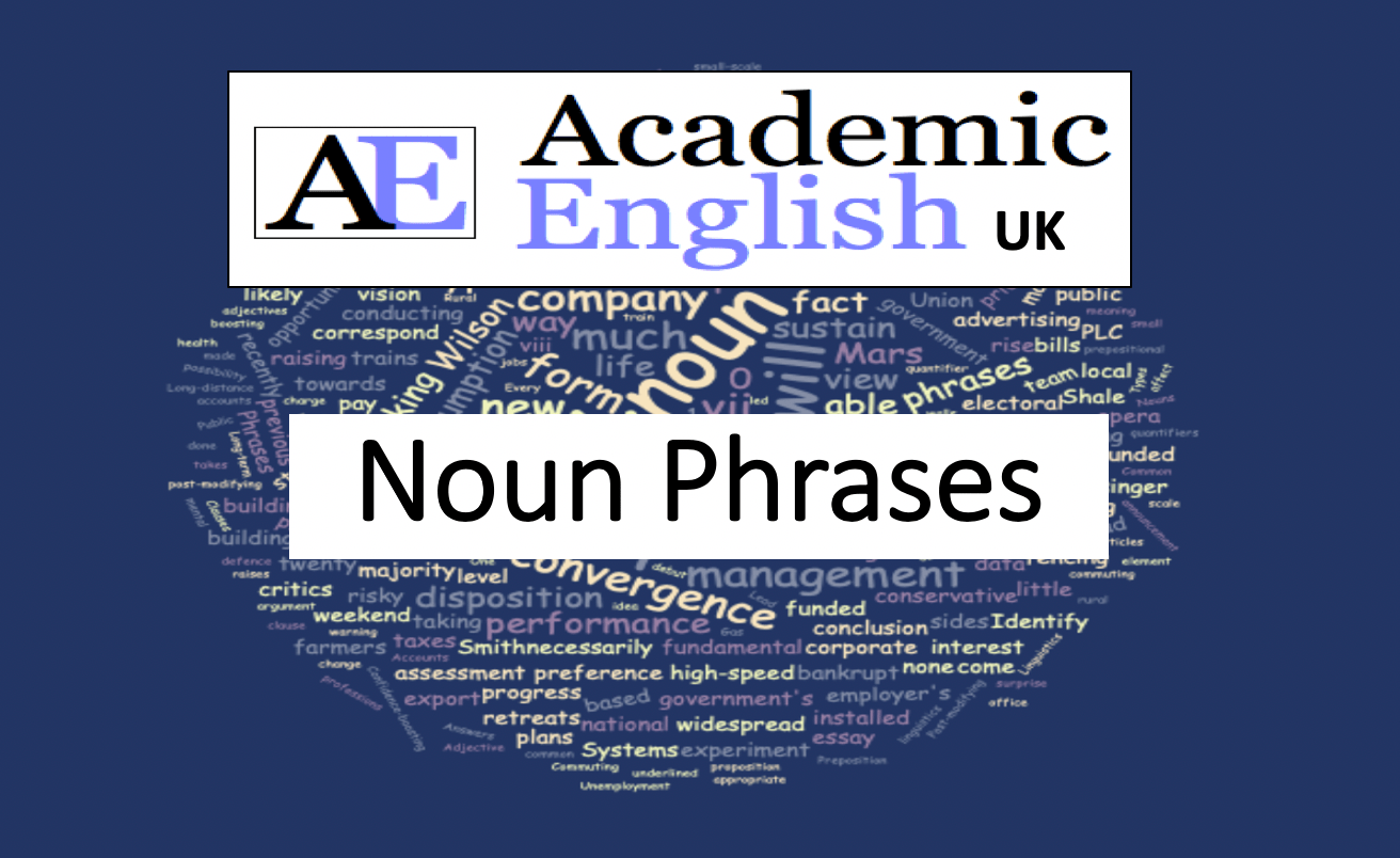 Noun Phrases Worksheet