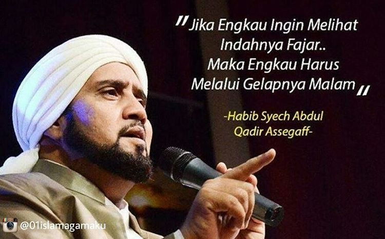 katakata habib syech bin abdul qodir assegaf  ACADEMIC