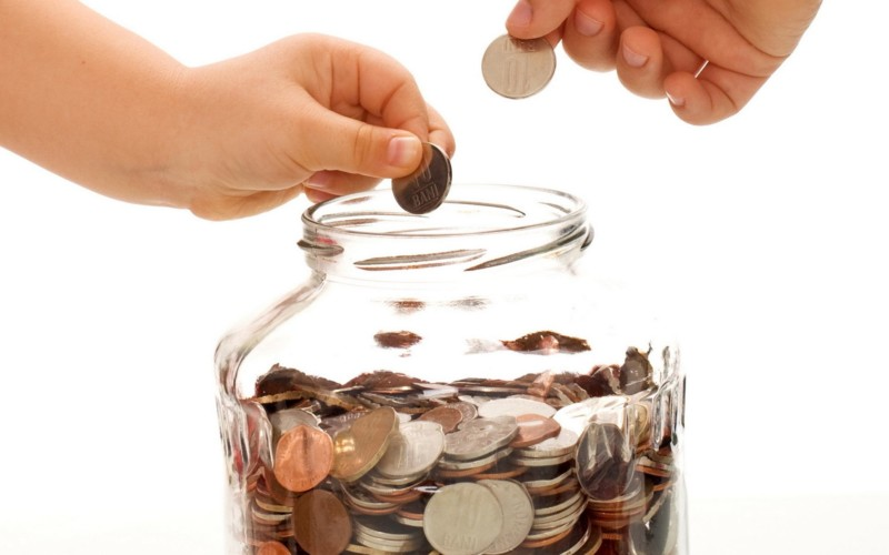 cara menabung uang recehan uang koin