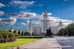 universitas terbaik di rusia Lomonosov Moscow State University