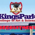 KingsPark College of Arts and Sciences Recruitment for Teachers
