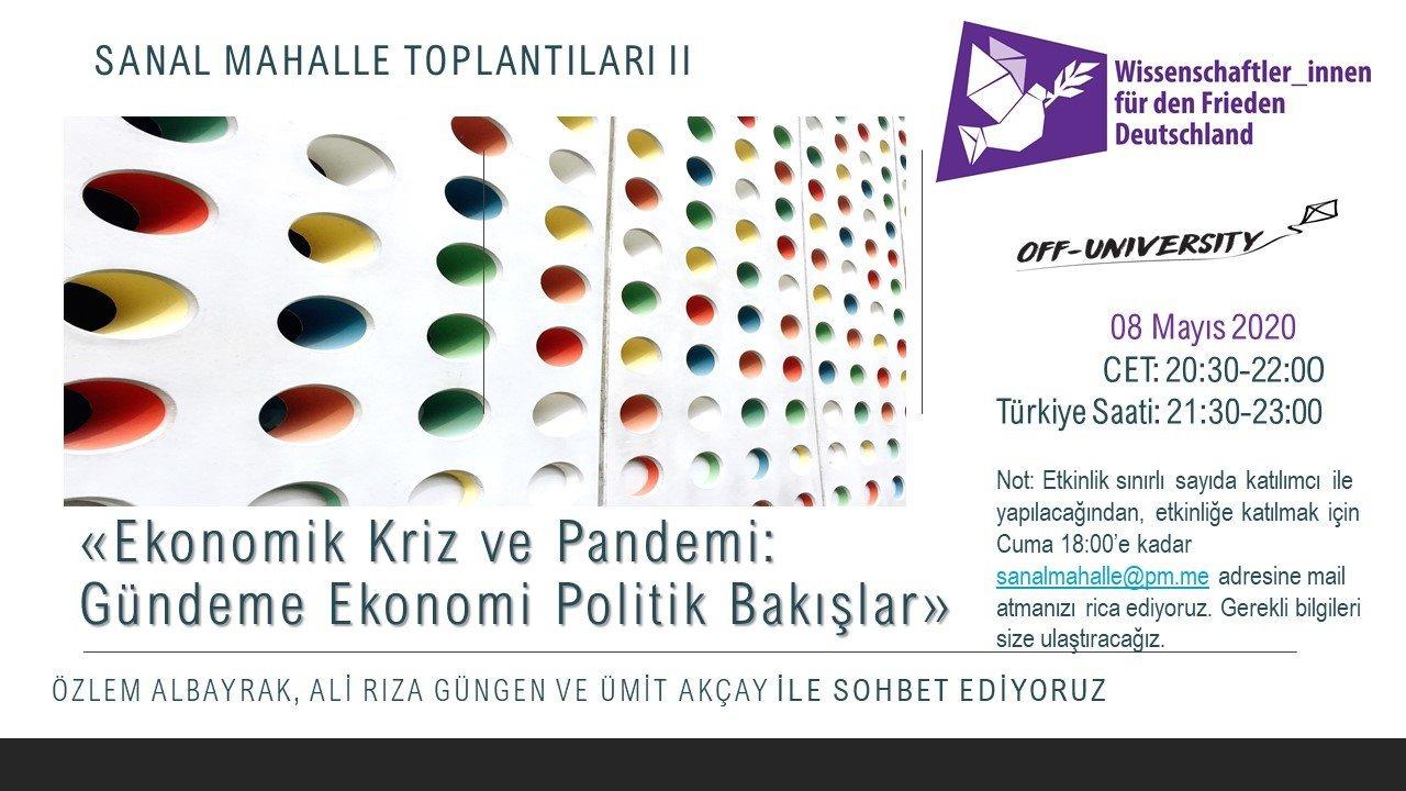 Read more about the article Ekonomik Kriz ve Pandemi: Gündeme Ekonomi-Politik Bakış
